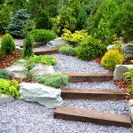 Decoration escalier jardin