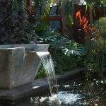 Decoration de fontaine de jardin