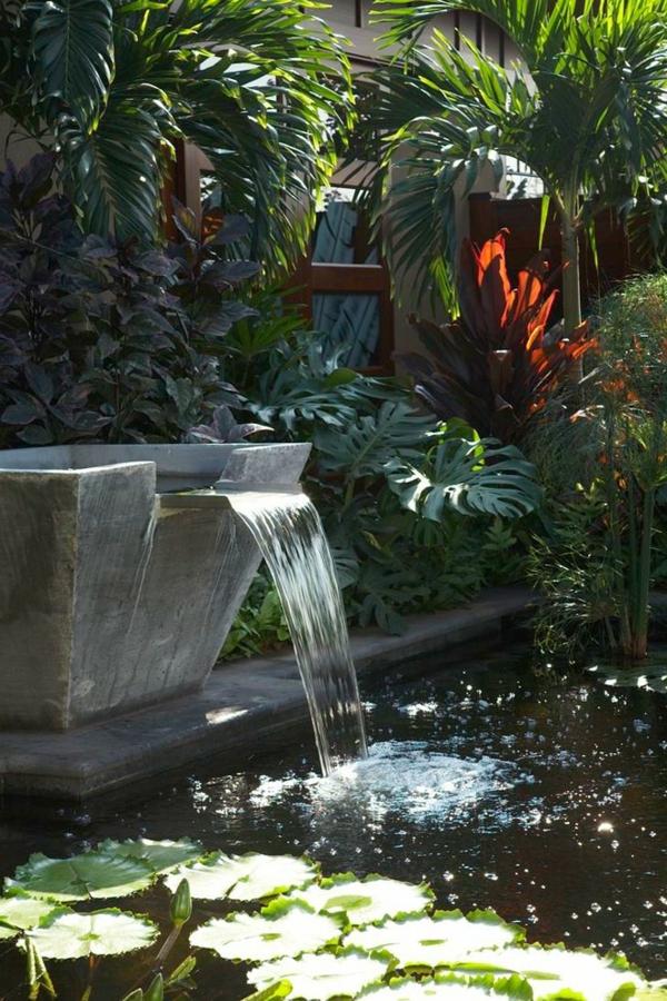 Decoration de fontaine de jardin - Design en image