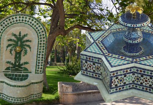 Decoration de jardin marocain