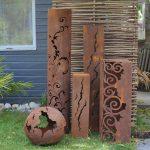 Colonne décoration jardin