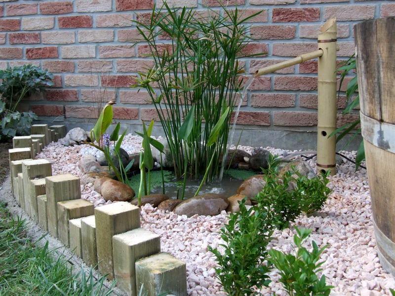 Décoration jardin d'agrément