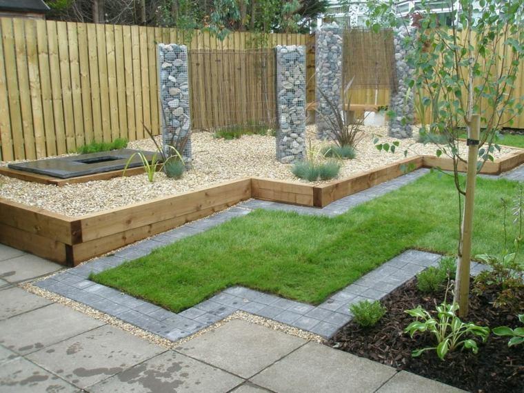 Décoration bois pour jardin - Design en image