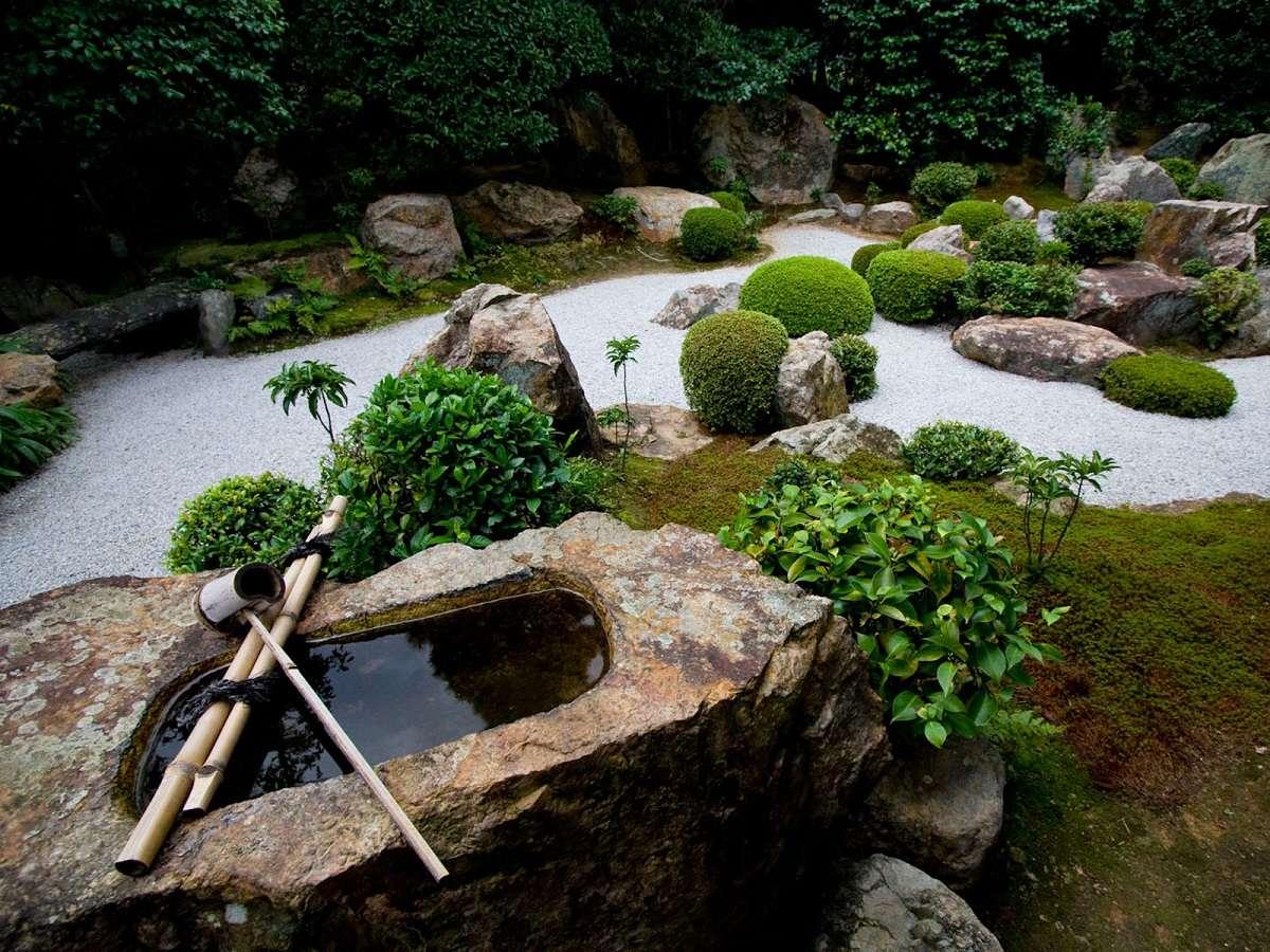 Decoration d un jardin zen