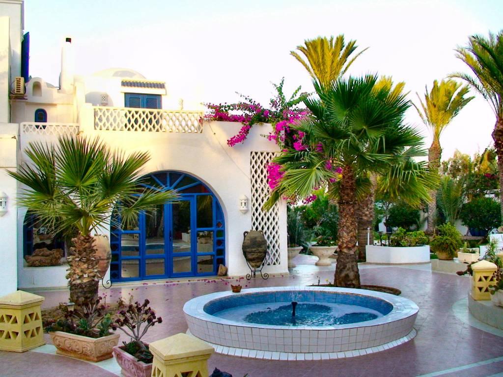Decoration jardin en tunisie