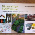 Livre jardin decoration
