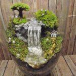 Décoration pour jardin miniature