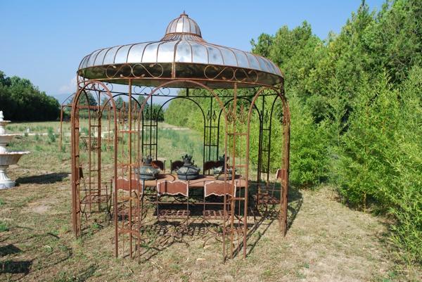 Decoration de jardin ancienne - Design en image