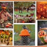 Décoration d'automne jardin