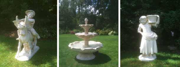 Décoration de jardin sculpture
