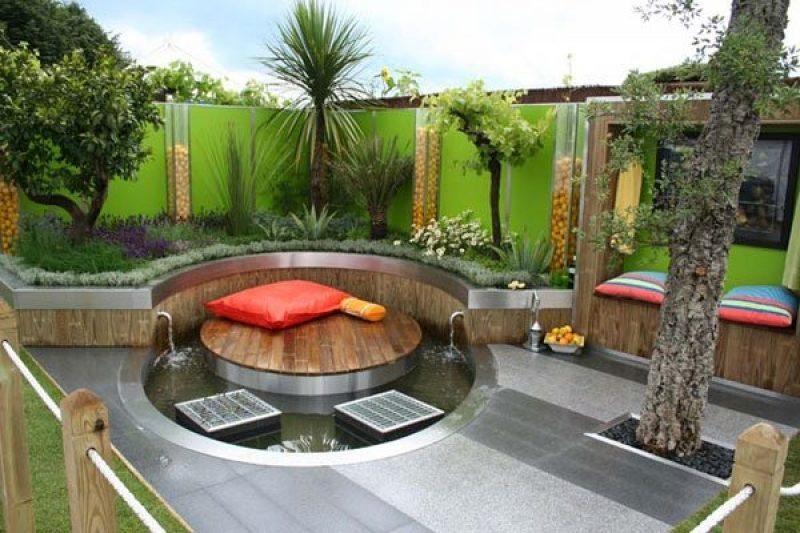 Décoration moderne jardin - Design en image