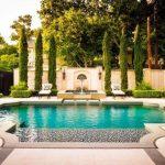Decoration pour piscine jardin