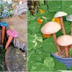 Décoration jardin poterie