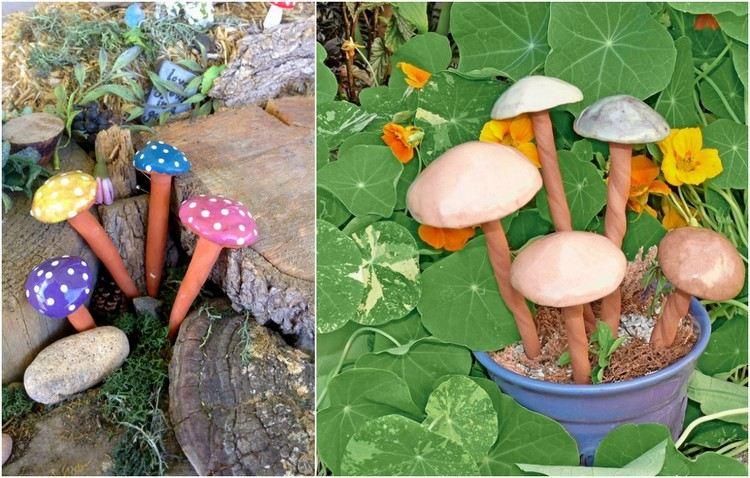 Décoration jardin poterie - Design en image