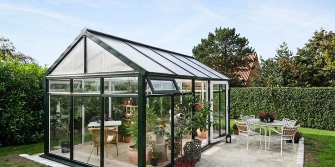 Serre jardin decoration - Design en image