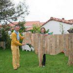 Vache pour decoration jardin