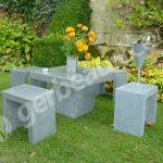 Décoration de jardin en zinc