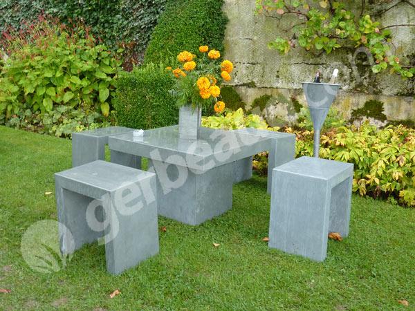 Décoration de jardin en zinc - Design en image