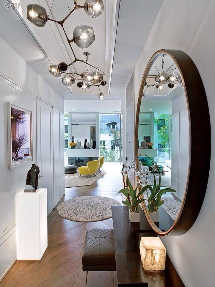 Lampe couloir design