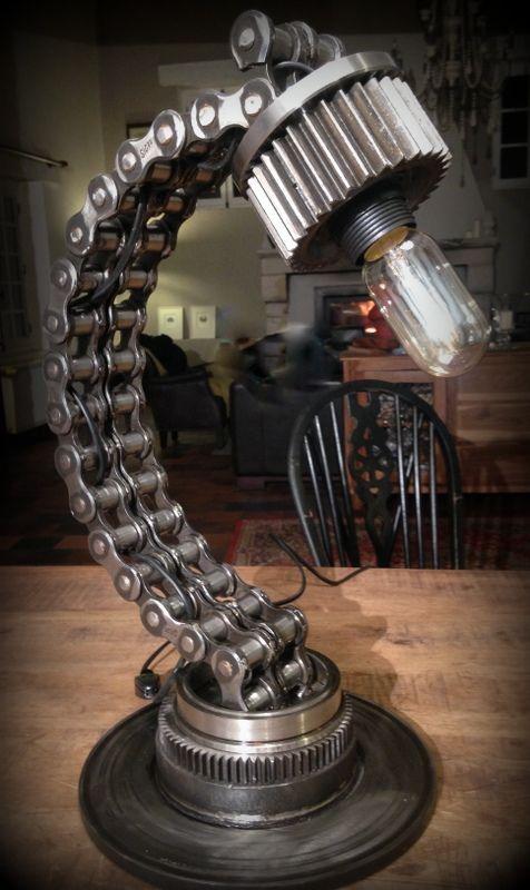 Lampe design garage