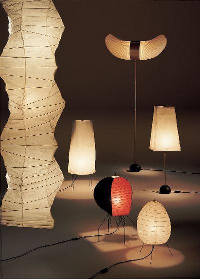 Lampe design japon