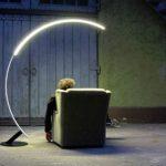 Lampe led sur pied design