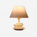 Lampe de chevet détournée