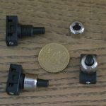 Interrupteur bouton poussoir lampe de chevet