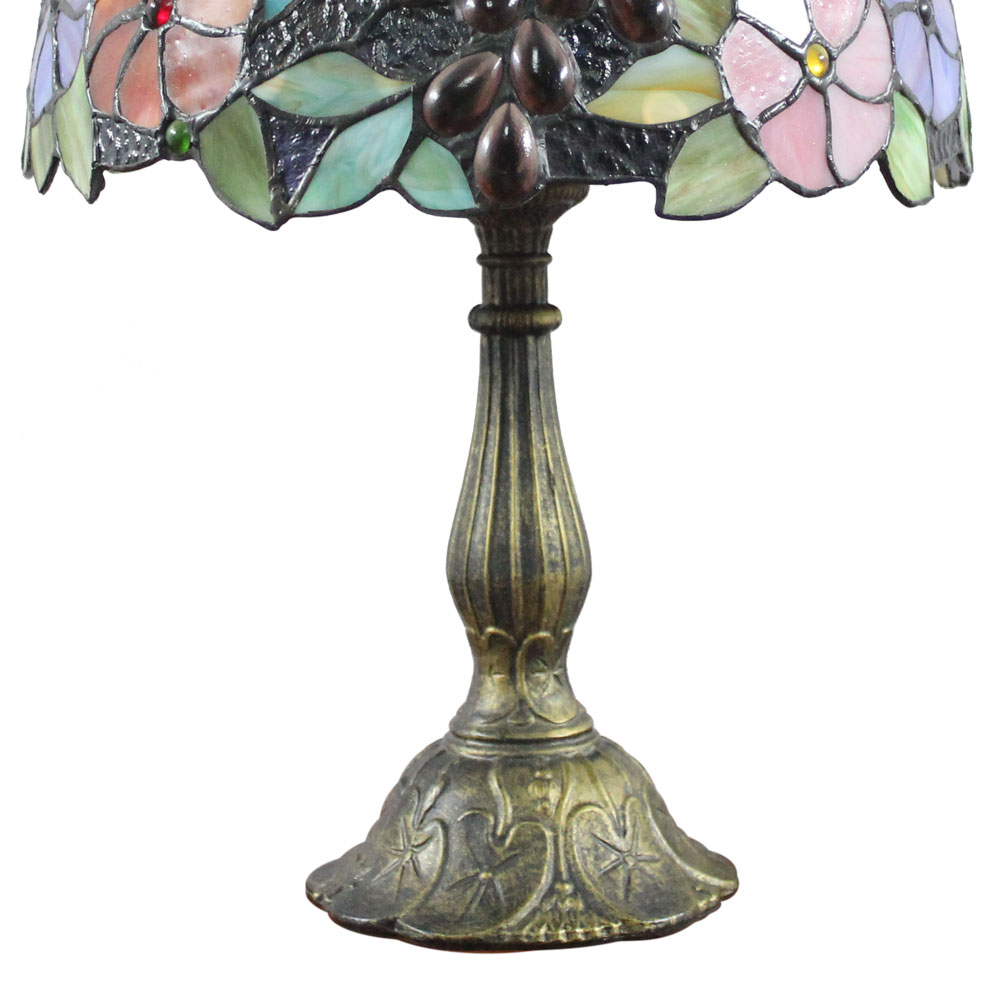 Lampe de chevet colorée
