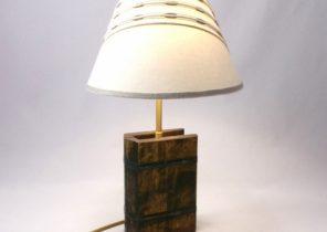 Recouvrir une lampe de chevet