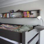 Lampe de chevet pour lit en hauteur