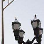 Synonyme lampadaire public