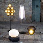 Lampe magma design