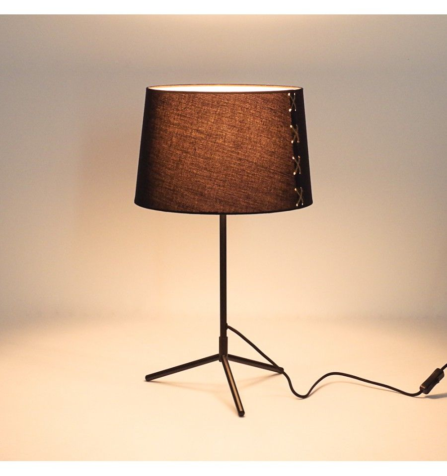 Lampe chevet metal design