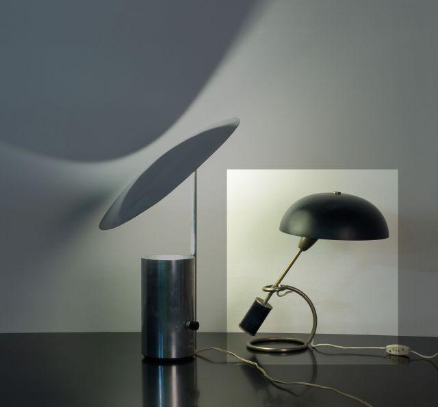 Lampe de bureau metal design