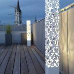 Lampadaire de jardin exterieur design