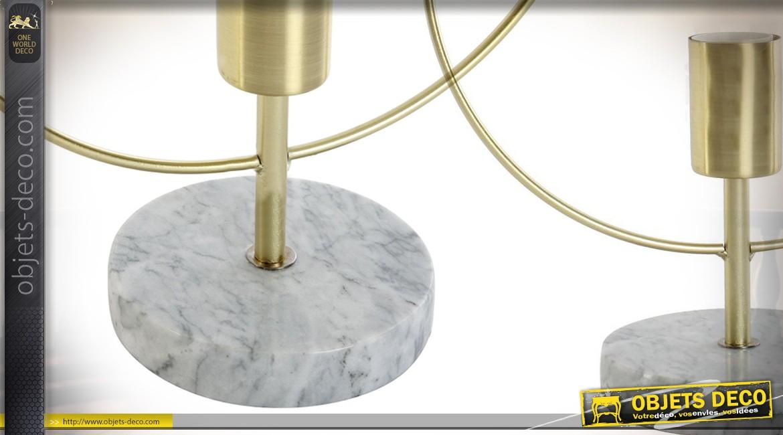Lampe design circulaire