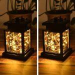 Lampe solaire exterieur design