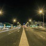 Rue lampadaire