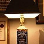 Lampe de chevet jack daniel