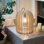 Lampe cage oiseau design