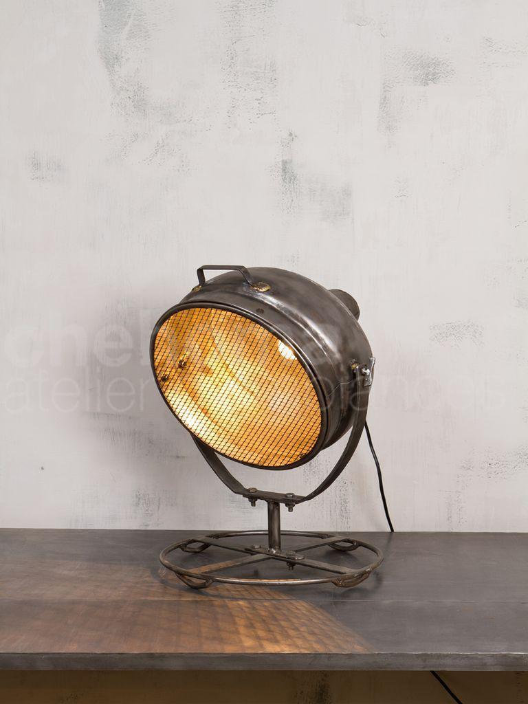 Lampadaire salon projecteur