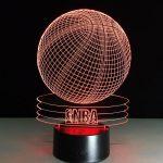Lampe de chevet acrylique