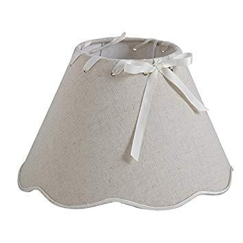 Abat jour lampe de chevet rond
