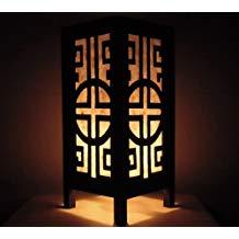 Lampe de chevet asie