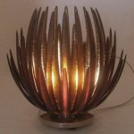 Lampe de chevet lotus