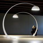 Lampe en arc design