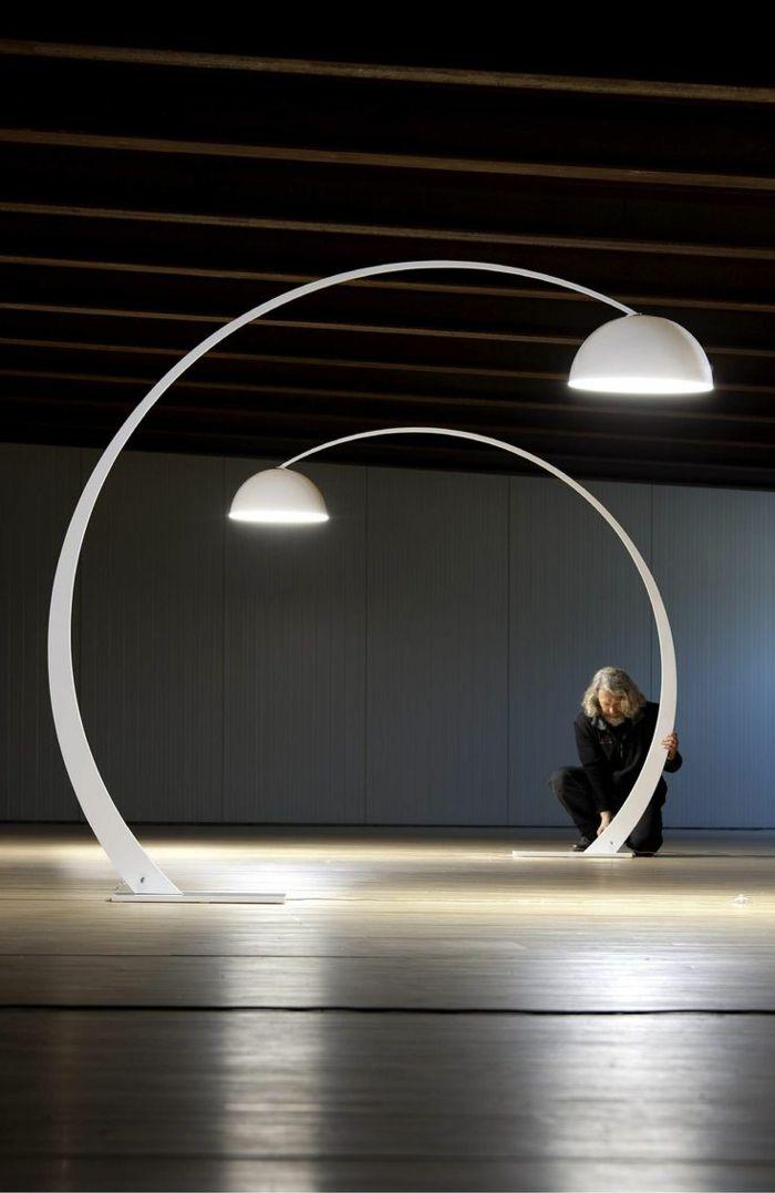 Lampe design arc