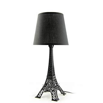 Lampe de chevet boule noir