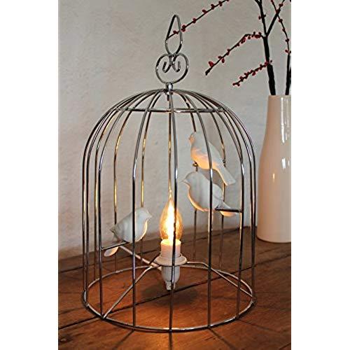 Lampe de chevet cage oiseau